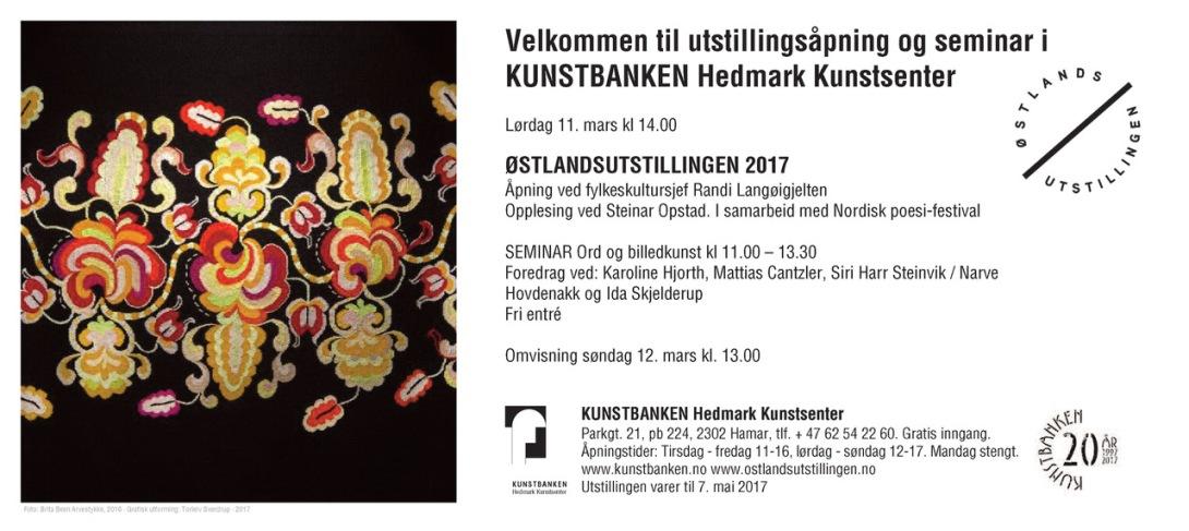 e-Invitasjon - Østlandsutstillingen 17-5